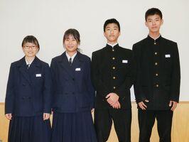 大町ひじり学園の前生徒会執行部の4人