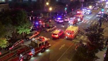 米首都ワシントンの路上で銃撃