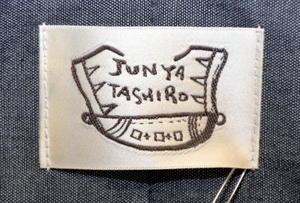 「JUNYA TASHIRO」のロゴ