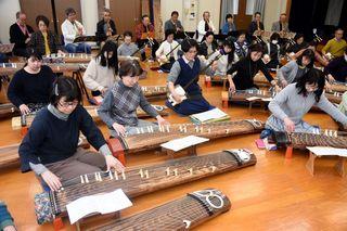 山口さん芸道60年記念 和楽器オーケストラ披露