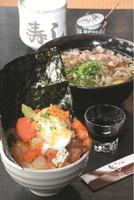 ミニぶっかけ丼 肉うどんセット 1188円