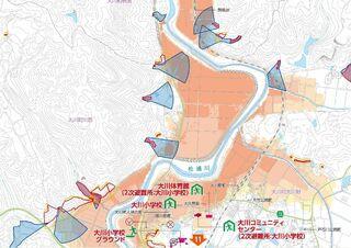 <10市10町・うちの防災マップ>伊万里市 行政区別も作成、全戸配布