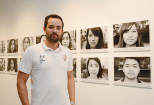 「ハーフの肖像」で多様性訴え 写…