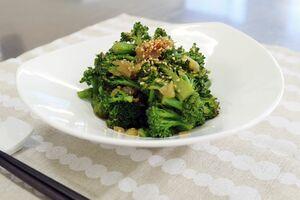 「ブロッコリーの中華炒め」