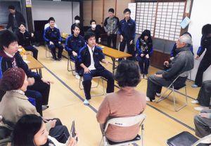 「姉川東分地区いきいき教室」に集まった皆さん