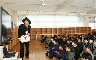 開成小と台湾の児童が交換 手紙で気持ち伝え合う