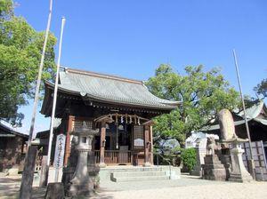 「義祭同盟」にゆかりがある楠神社(提供写真)