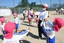 生徒と園児、4カ月ぶりの交流に笑顔 唐津南高で保育実習
