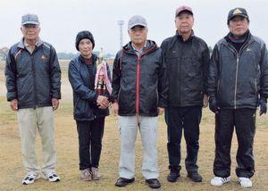 兵庫町GG愛好会1月定例会の上位入賞者
