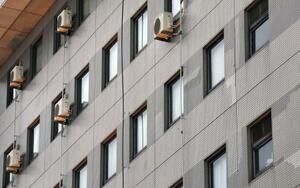 東京五輪のウガンダ代表選手団が滞在する大阪府泉佐野市内のホテル=23日午後