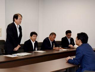 原子力防災、財政支援を 伊万里市長が県に要望