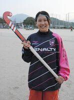 東京五輪代表に選ばれた鳥山麻衣。伊万里商高時代は18歳以下の日本代表を経験するなど当時から期待されていた(2014年2月)