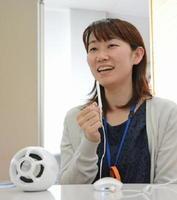 吉野ヶ里町が試験導入した聞こえを支援するスピーカー。高齢者との対話の質の向上を目指す