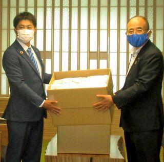 <新型コロナ>佐賀青年会議所が手作りマスク、放課後児童クで活用