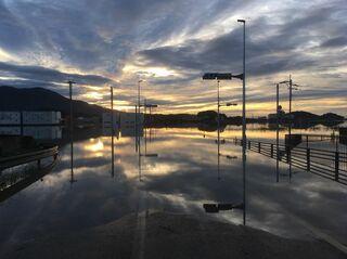 <教訓生きたか>浸水原因 わずか2年、内水氾濫再び 排水ポンプ止まり拡大