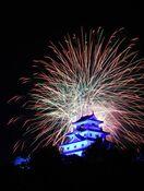 【動画】コロナ収束と先祖の冥福祈り、花火彩る 市仏教協同…