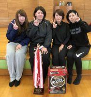 第58回佐賀市ミニバレーボール交流大会 女子A優勝のCRUSH BANG