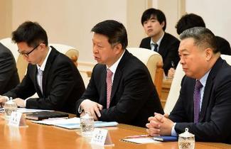 中国特使と北朝鮮外交トップ会談