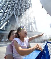 栃木など今年初の猛暑日