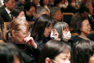 中村哲さんのお別れ会に5千人