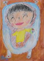 藤原ゆいさん(浜小学校3年)「かわいい妹」
