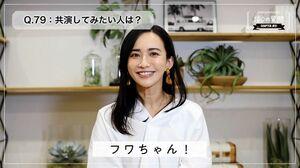 優木まおみさんがユーチューブで公開している動画の1シーン(提供写真)