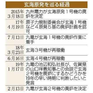 玄海2号機廃炉決定 九電、新基準へ対応困難