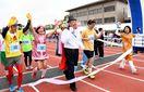 佐賀リレーマラソン大会 88チーム715人健脚競う