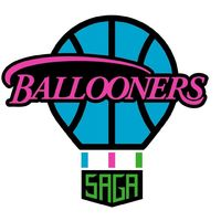 佐賀バルーナーズのロゴマーク。大空へ舞うバルーンをモチーフにしている