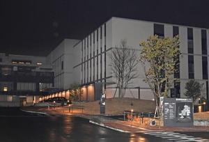 鑑定入院中の男性患者が無断でいなくなった愛知県精神医療センター=13日午後9時40分、名古屋市