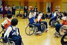 車いすバスケで「障害」理解 佐賀清和高生が体験授業