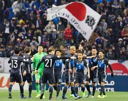 日本、タイに4―0で大勝