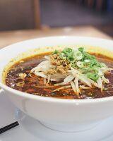 小玉さんお勧めの「激辛蘭蘭麺(850円)