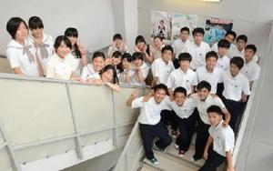 今回協力してくれた龍谷高生徒会のメンバー