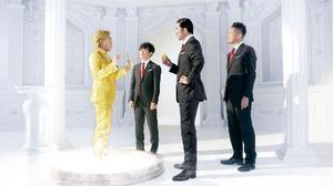 TOKIOの4人が出演する殺虫剤の新CM(フマキラー提供)