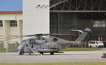 政府、米軍ヘリ飛行容認