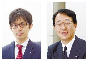 (左)松瀬先生(右)佐野先生