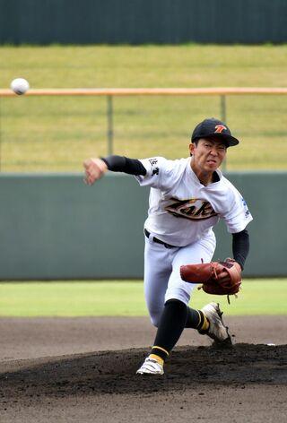 多久主戦柴田3安打完封 九州高校野球佐賀大会 多久3-0太良