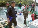 真珠母貝の養殖に挑戦