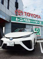 トヨタの燃料電池車「MIRAI(ミライ)」