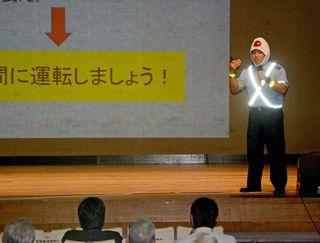 命守る習慣づけ 鹿島市で交通安全講話