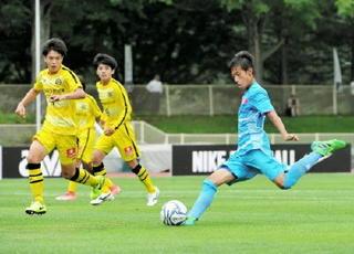 サガンU-15攻めて栄冠 クラブユース選手権