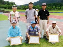 第6回伊万里眼科杯争奪GGペア大会 総合優勝者と各グループ1位入賞者