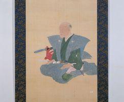 「古賀穀堂像」(江戸時代・県立博物館蔵)