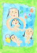 家族の絵コンクール募集 大切な家族おうちで描こう
