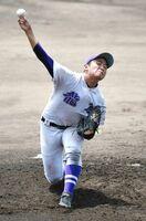 〈SSP杯高校野球〉龍谷・田中、「ど根性」で力投
