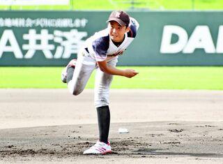 <NTT西日本杯少年野球>準々決勝 川上小野球ク 快勝
