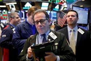 NY株続落、201ドル安
