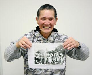 <つなぐ佐賀の聖火ランナー(5)>念願のトーチ「ドキドキ」 鶴崎與市郎さん(71歳・佐賀市)