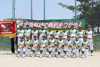 みんなのスポーツジュニア 第49回佐賀県少年野球選手権大会NTT西日本杯争奪大会 地区予選成績 杵島地区